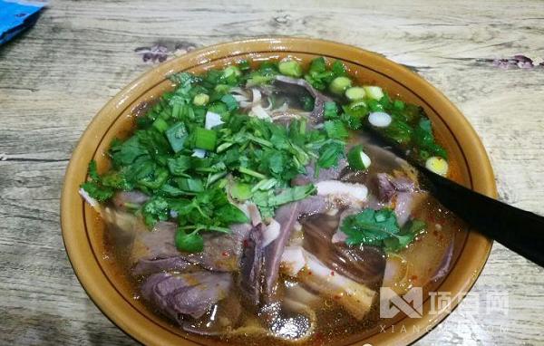 马家牛肉汤
