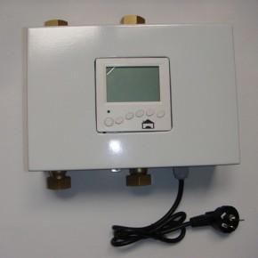 恒尔暖自控中心,两种热水器互补配合供热水智能控制装置