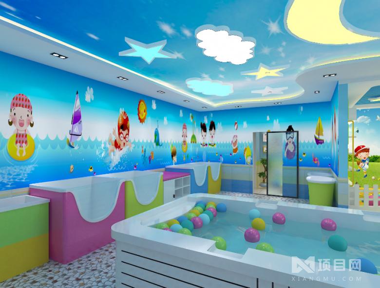 尤米尤米婴儿游泳馆
