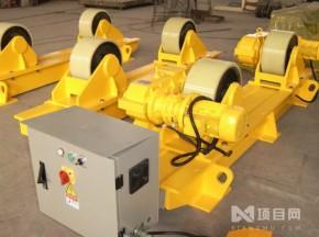 山东厂家可调式焊接滚轮架 变频无级变速3吨滚轮架