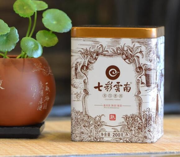 七彩云南普洱茶