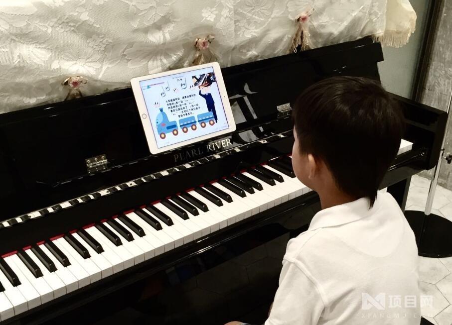 悦指间少儿钢琴培训