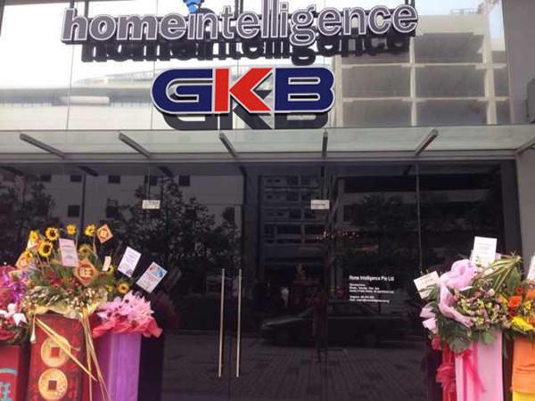 GKB智能家居进驻新加坡华丽开启东南亚之旅(图)_1