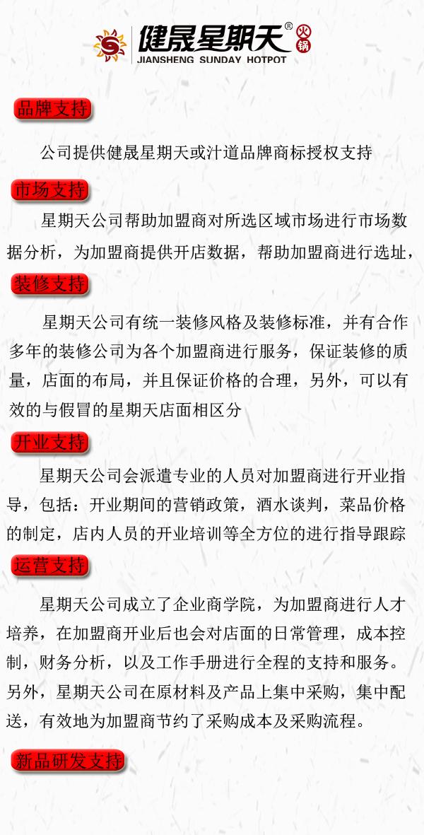 健晟星期天火锅加盟连锁_2
