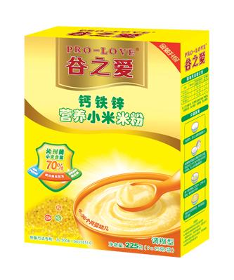 钙铁锌小米米粉225g