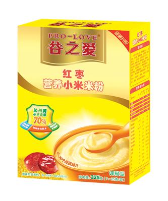 红枣小米米粉225g