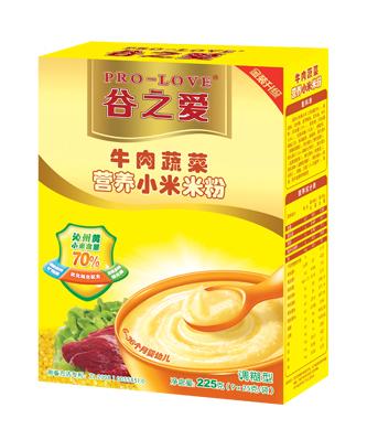 牛肉蔬菜小米米粉225g