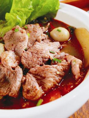 美冒冒菜汁酿蒙古肉