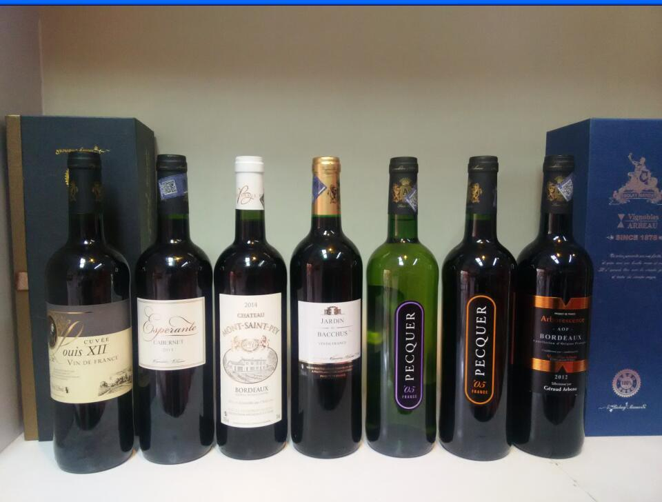 法国波尔多原瓶进口葡萄酒