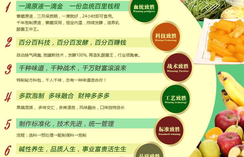 奔舌果蔬酸品加盟代理_奔舌果蔬酸品加盟条件费用_3