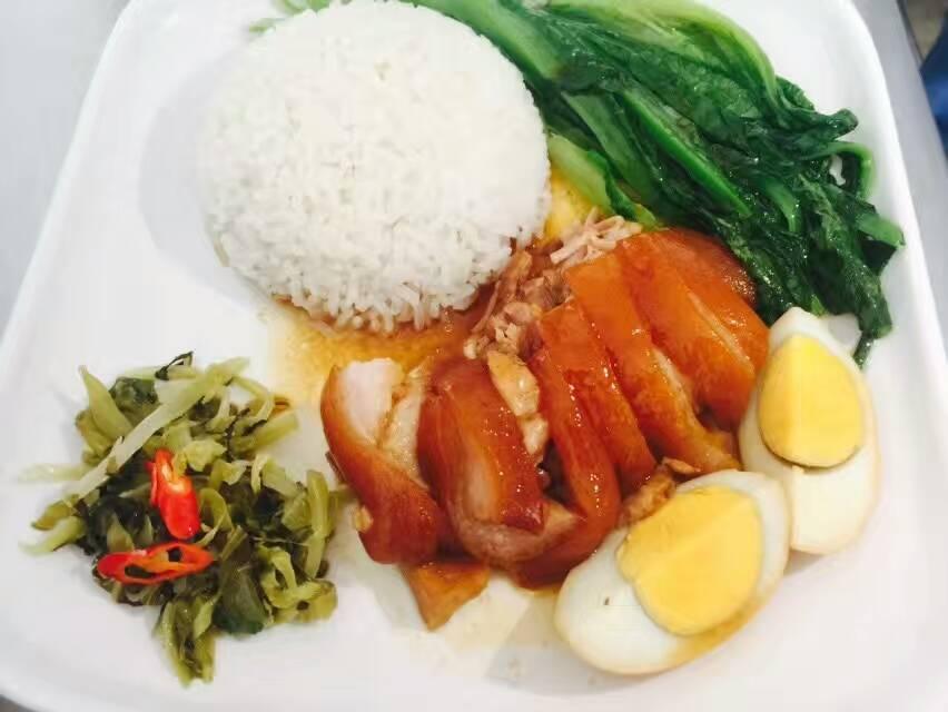 哪里可以学到隆江猪脚饭做法,简便快餐猪脚饭培训包教包会(图)_1