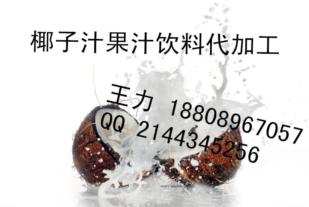 椰子汁饮品酵素代加工来料加工、上海中邦制造商贴牌生产