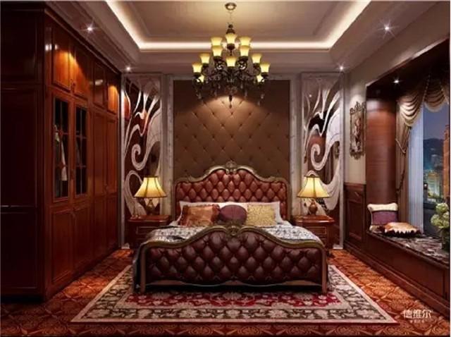 轻奢欧式卧室装修效果图!德维尔商城定制家具(图)