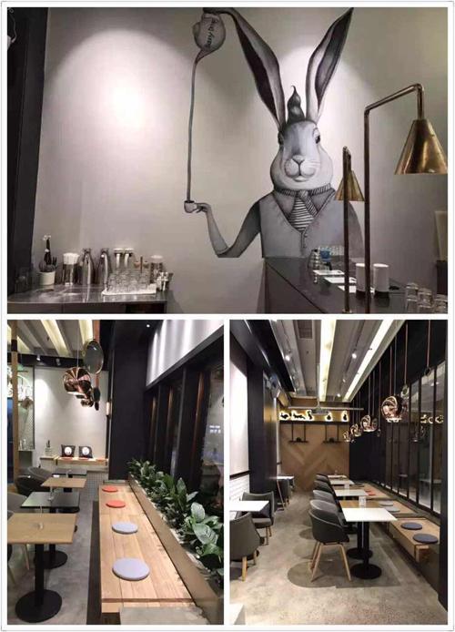 BunnyDrop白兔糖咖啡登陆成都凯德mall(图)_4