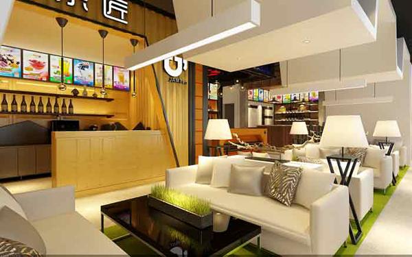 上海赫筑——C忆奶茶店