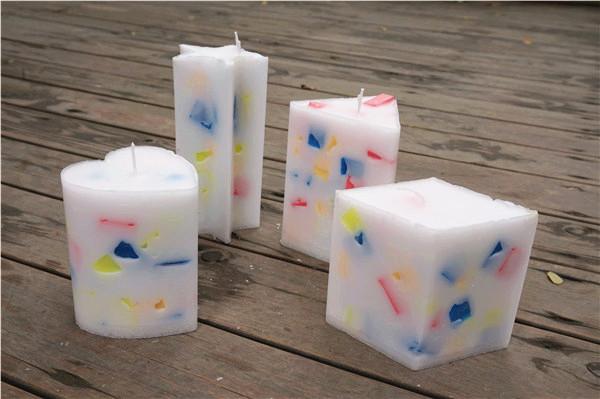 糖果色家居蜡烛-来自创意手工坊的分享