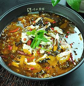 干香酸菜味锅底