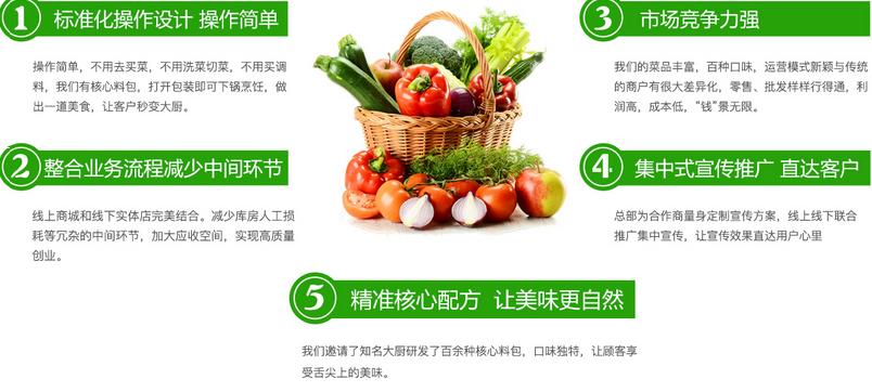 挨着家半成品菜加盟代理_挨着家半成品蔬菜店加盟条件费用_5