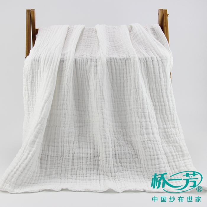 桥一芳促销活动期:六层泡泡纱浴巾