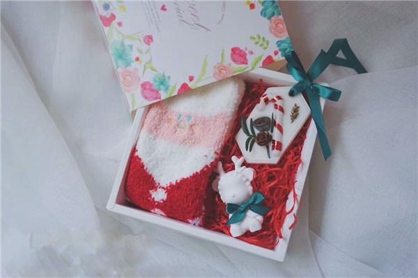 手工DIY蜡烛店香薰蜡烛作品-圣诞节的礼物