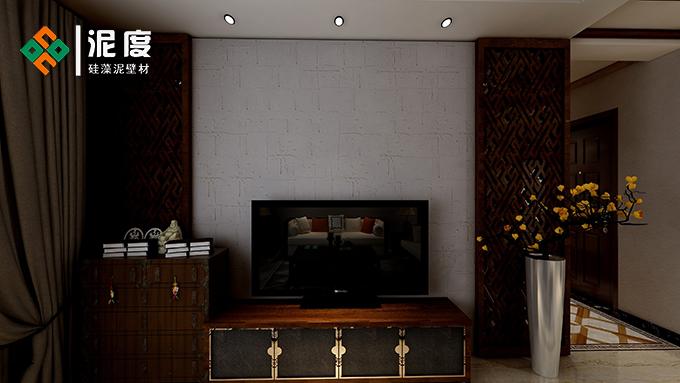 硅藻泥电视背景墙各产品效果图片