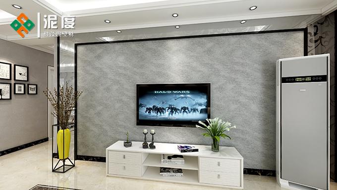 牛皮纸硅藻泥电视背景墙特点有哪些