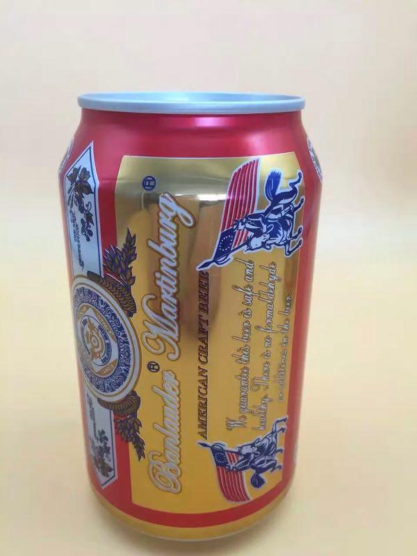 330ml夜场啤酒易拉罐招商
