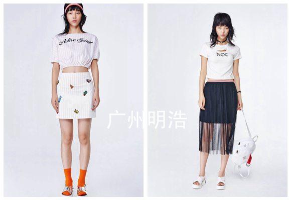 杭州女装折扣批发洛可可正品新款夏装