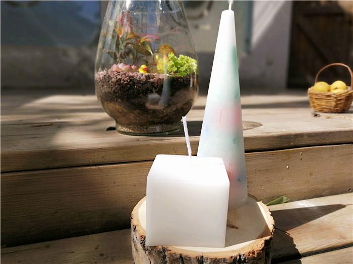 手工家居蜡烛作品分享
