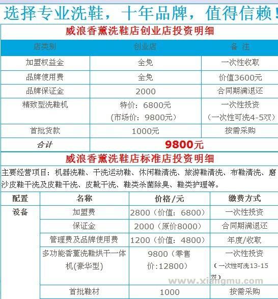 威浪香薰洗鞋连锁店:中国著名连锁品牌_19