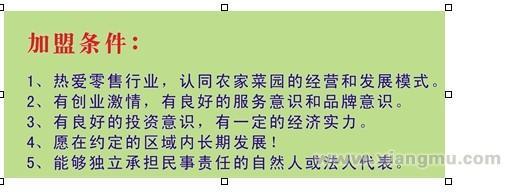 农家菜园蔬果超市加盟代理全国招商_4