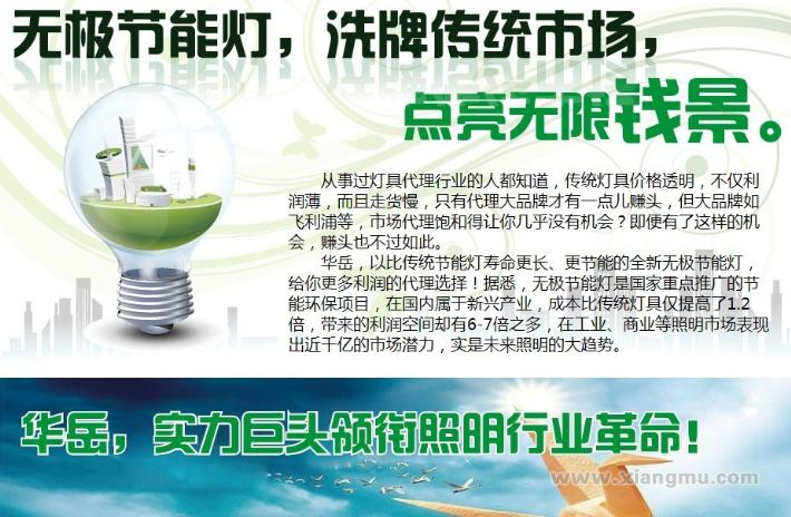 华岳无极灯加盟代理全国招商_2