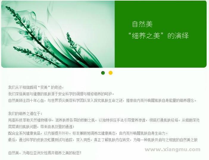 自然美化妆品加盟代理全国招商_3