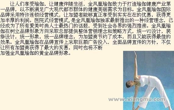 金凤凰瑜伽连锁——打造中国瑜珈业_4