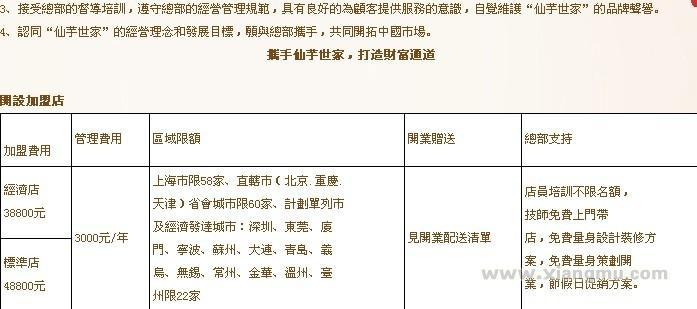 仙芋世家加盟连锁店全国招商_3