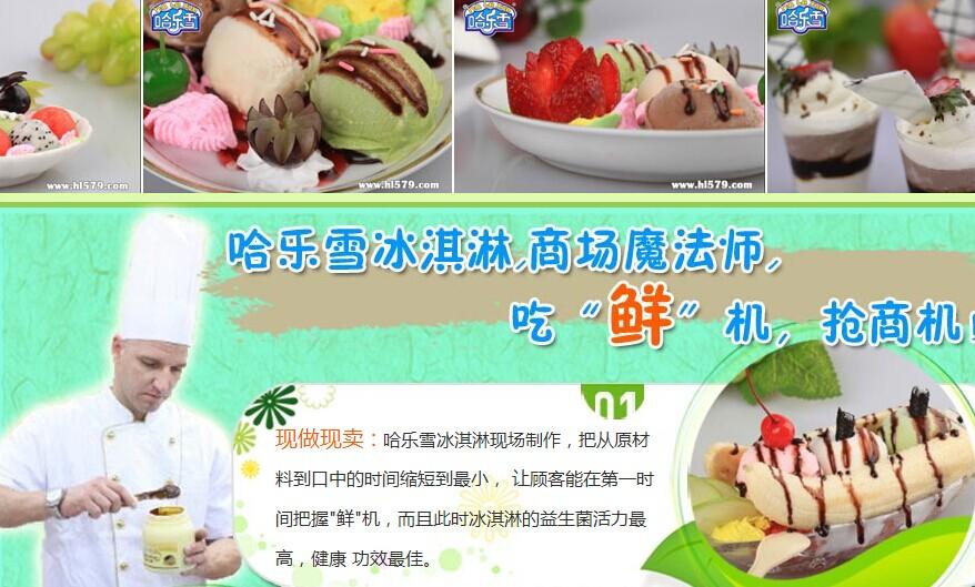 哈乐雪冰淇淋加盟连锁全国招商_4