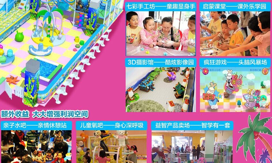 七彩金童儿童乐园加盟连锁,七彩金童儿童乐园多少钱_4