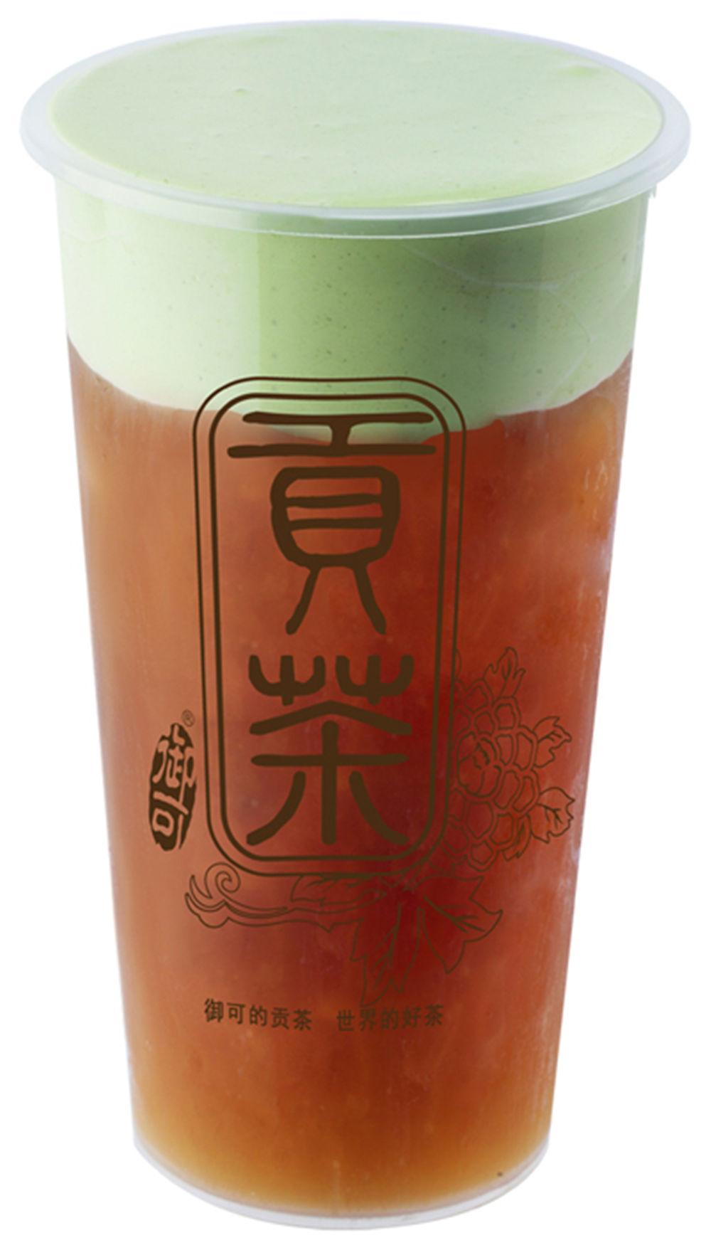【招牌奶盖茶】抹茶奶盖茶