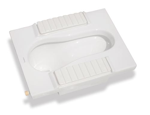 超级节水型自动蹲便器GHA0202