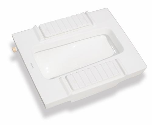 超级节水型自动蹲便器GHA0203