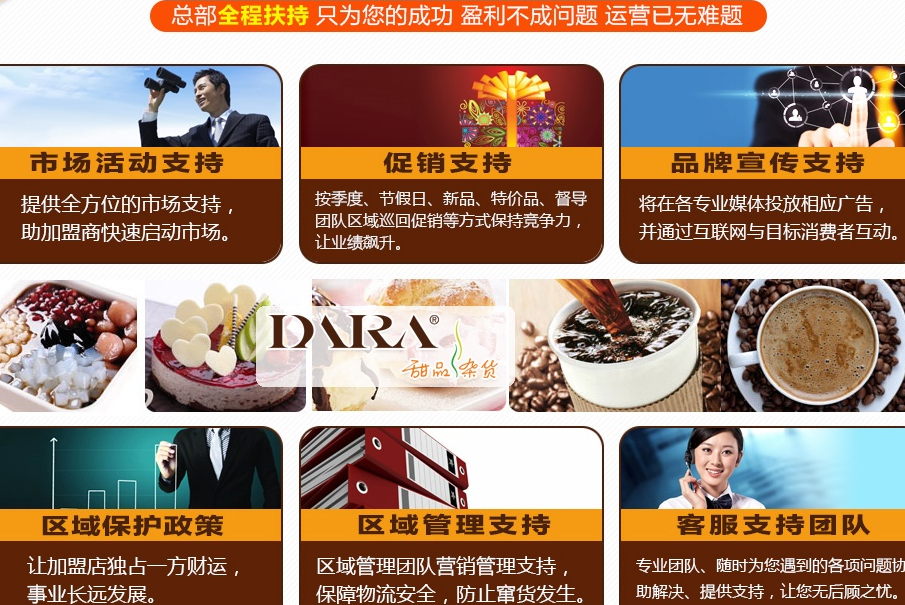 dara甜品杂货加盟连锁全国招商,dara甜品杂货加盟费是多少_10