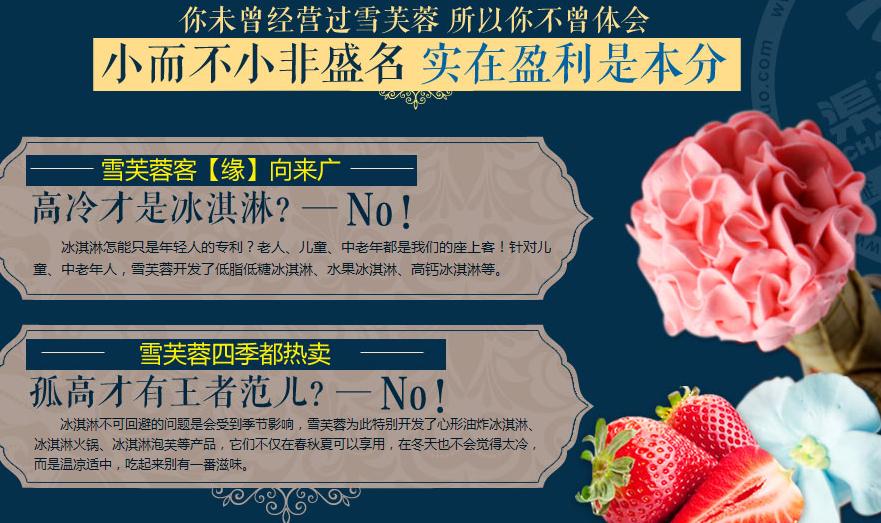 雪芙蓉冰淇淋加盟连锁全国招商,雪芙蓉冰淇淋加盟费多少钱_5