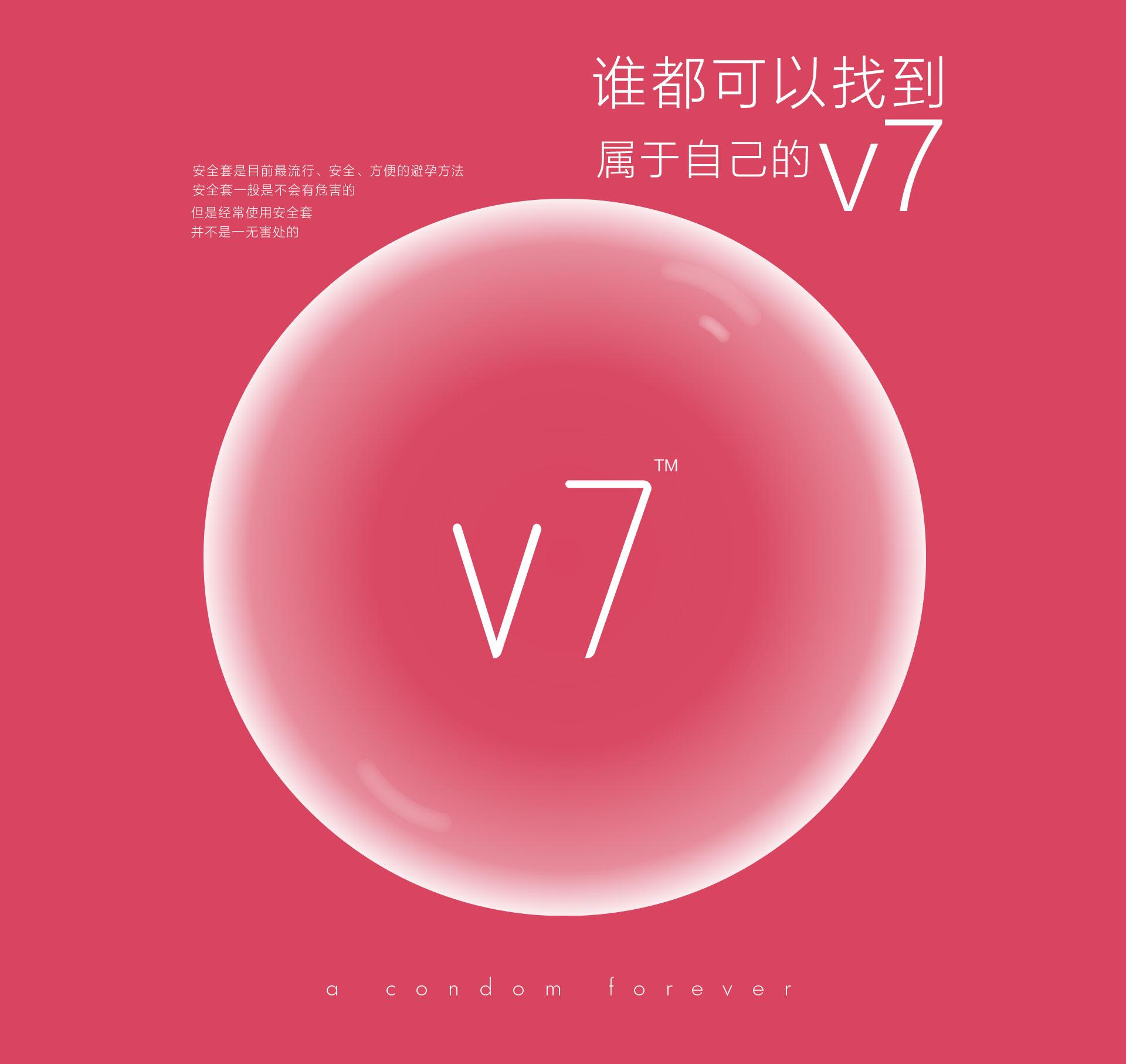 V7避孕套