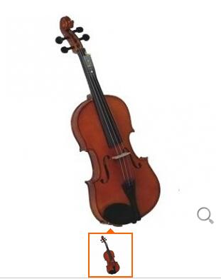 红棉V0053/4小提琴 手工制作