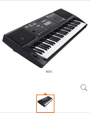 美得理M301电子琴美得理M-301电子琴