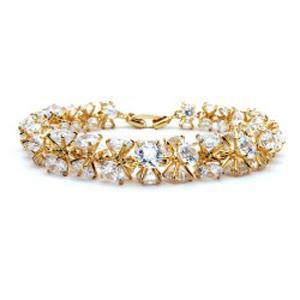 KELAKELA 原创采用AAA锆石 手链韩版时尚 个性水晶首饰 饰品2014760