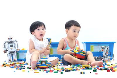玛酷机器人教育学前课程体系阶段:3+岁城市家园