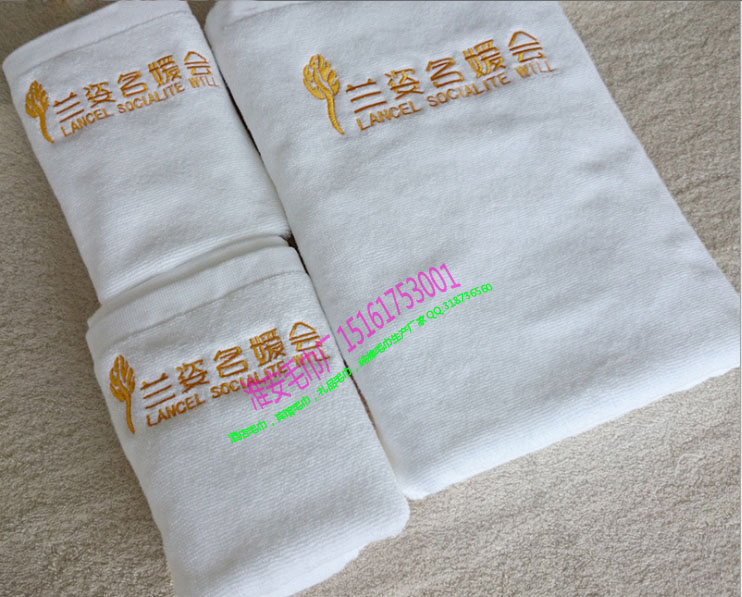 专供宾馆酒店洗浴及美容院等场所,量大定制纯棉毛巾厂