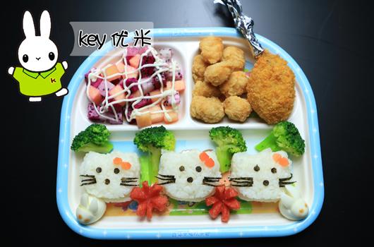 key优米儿童主题餐厅 专为儿童设计