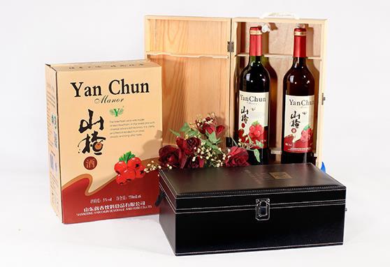 颜春vivi红果酒